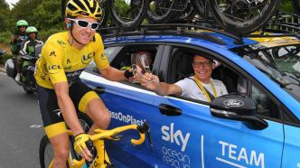 Cyclisme : Le manager de Sky envoie un message fort à Geraint Thomas !