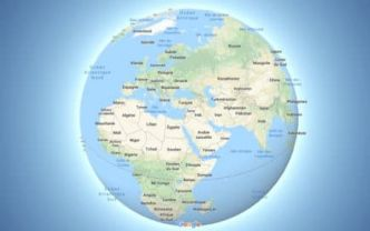 Google Maps abandonne (enfin) la projection cartographique de Mercator !