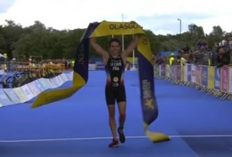 Pierre Le Corre champion d'Europe de triathlon !