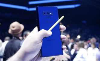 Samsung se moque de l'absence du stylet sur l'iPhone X et vante son Galaxy Note 9