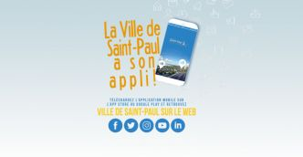 Téléchargez maintenant l'application Ville de Saint-Paul !