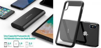 🎉Promos : Coque iPhone X, Batterie nomade RAVPower, Hoverboard 4×4 et plus