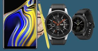 Unpacked 2018 : Samsung présente le Galaxy Note 9, la Galaxy Watch, le Galaxy Home et Fortnite en exclusivité