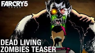 Far Cry 5 : Le DLC Dead Living Zombies prend date en vidéo