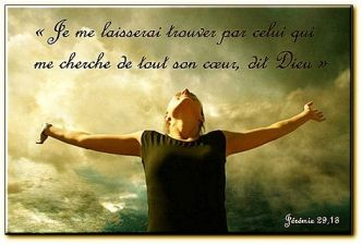 Si tu cherches, tu trouveras. ( Charles Spurgeon )