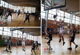 Revivez le premier match amical du Grenoble Basket contre Annonay en photos