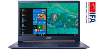 [IFA2018] Acer Swift 5 SF514-53T : Un 14 pouces parfum Whiskey Lake