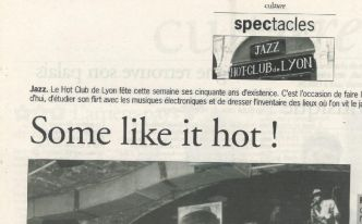 """Il y a 20 ans: """"Some like it hot"""""""