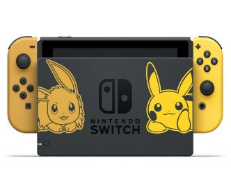 Nintendo Switch édition Pikachu & Évoli, les packs…