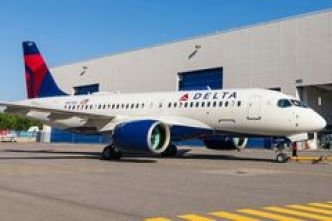 Airbus A220 Delta Air Lines (Image)