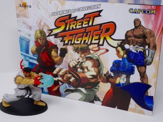 Collection de figurines Street Fighter chez Altaya