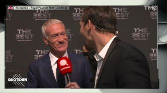 The Best FIFA Football Awards : Didier Deschamps sacré meilleur entraîneur de l'année