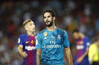 Foot - ESP - Real Madrid - Isco (Real Madrid) opéré d'une crise d'appendicite aiguë