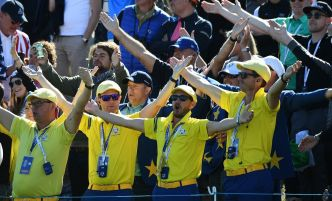 VIDEO. Ryder Cup: quand les fans de golf reprennent les chants de foot