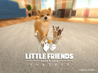 Little Friends: Dogs & Cats, une jaquette…