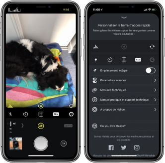 L'app photo Halide se dote d'un format « smart Raw » pour tirer le meilleur des photos des iPhone XS/XR