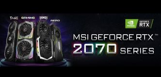 MSI dévoile ses GeForce RTX 2070