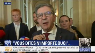 Agacé par une question, Jean-Luc Mélenchon se moque de l'accent du Sud d'une journaliste