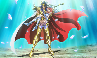 L'anime Saint Seiya: Saintia Sho, en Visual Art 5
