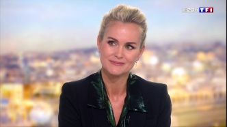 "REVIVEZ - ""La vie sans lui est vertigineuse"" : l'interview exclusive de Laeticia Hallyday au 20h de TF1"