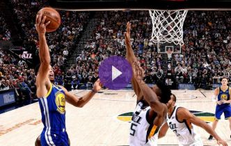 NBA : Les Warriors crucifient le Jazz !