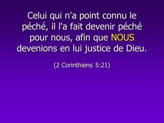 La substitution ( Oswald Chambers )