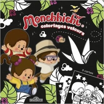 Monchhichi – Coloriages velours