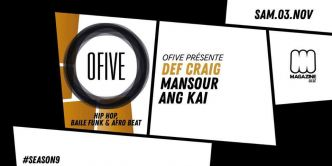 2 x 2 places à gagner - Ofive Party Lille @ Magazine Club le 03/11/2018