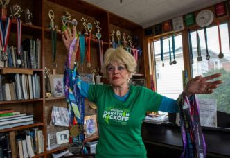 "Ginette, 85 ans et 16 marathons de New York: la course comme ""addiction"""