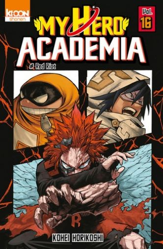 My Hero Academia Tome 16