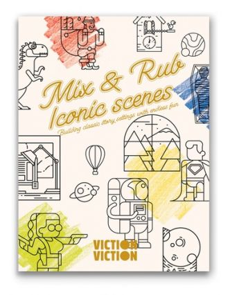 Mix & rub iconic scenes building classic story settings with endless fun