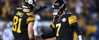 Ben Roethlisberger s'amuse face aux Panthers