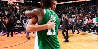 Les highlights de l'énorme duel Kyrie Irving – Devin Booker