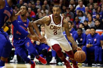 Basket - NBA - George Hill sur le flanc