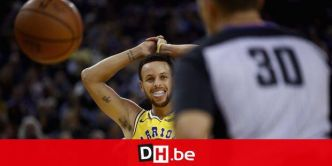 NBA: Milwaukee corrige Golden State, Curry sort sur blessure