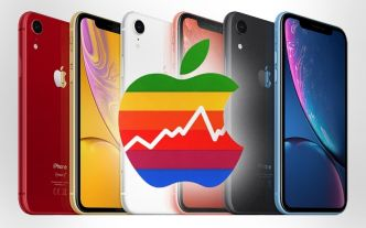 Apple : le cours de l'action chute en bourse, les mauvaises ventes d'iPhone XR se confirment