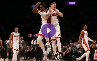 NBA : Le Heat remet les gaz face aux Nets