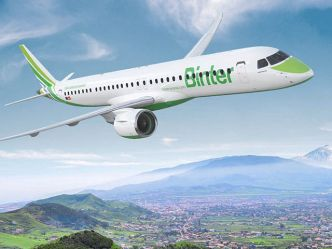 Binter va lancer l'Embraer E195-E2 en Europe