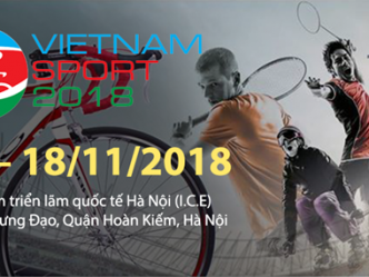 Ouverture de l'exposition internationale Vietnam Sport Show 2018