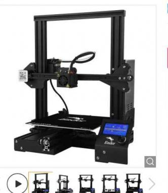 156€ l'imprimante 3D Creality3D Ender (expedition Europe)