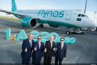 Airbus A320neo Flynas (Image)