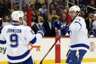 Hockey - NHL - Tampa Bay s'impose en un éclair à Pittsburgh