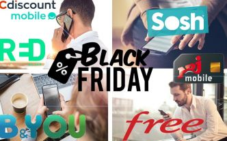 Forfaits mobiles en promo : le top des offres avant le Black Friday 2018