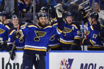 Hockey - NHL - Les St Louis Blues rebondissent bien à Vegas