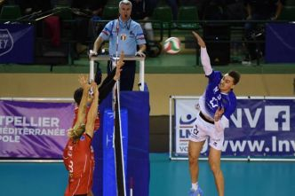 Volley - Ligue A (H) - Ligue A: Montpellier renverse Chaumont