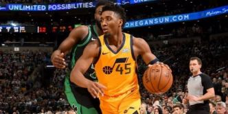 Donovan Mitchell retrouvé, le Jazz se reprend et bat encore Boston