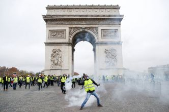 "Incidents à Paris lors de la manifestation des ""Gilets jaunes"""