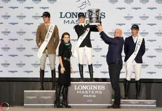 Paris Longines GP : victoire d'Edwina et California !