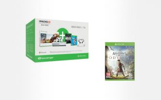 Bon plan : Xbox One S 1 To + PUBG + FIFA19 + Forza 4 + Assassin's Creed Odyssey + 2 manettes à 299€