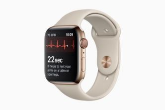 Watch Series 4 : Apple active l'électrocardiogramme avec watchOS 5.1.2